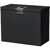 Hoover HMCH202BEL 95cm Wide 197L Chest Freezer - Black