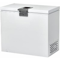 GRADE A3 - Hoover HMCH202EL 95cm Wide 197L Chest Freezer - White Best Price, Cheapest Prices