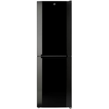 Hoover HMNB6182B5K 186x60cm Total No Frost Freestanding Fridge Freezer - Black
