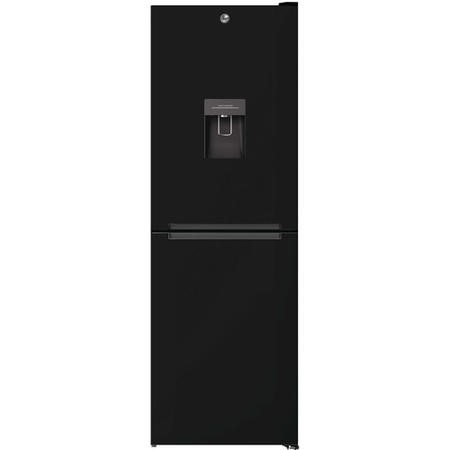 Hoover HMNB6182B5WDK Total No Frost Freestanding Fridge Freezer With Water Dispenser - Black