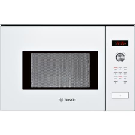 Bosch Hmt75m624b Serie 6 White Built In Microwave Oven For