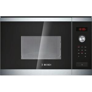 Bosch HMT75M654B Built-in Microwave Oven Stainless Steel For 60cm Wide Cabinet