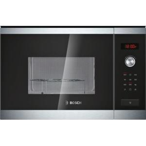 Bosch HMT84G654B Stainless Steel Built-in Microwave With Grill