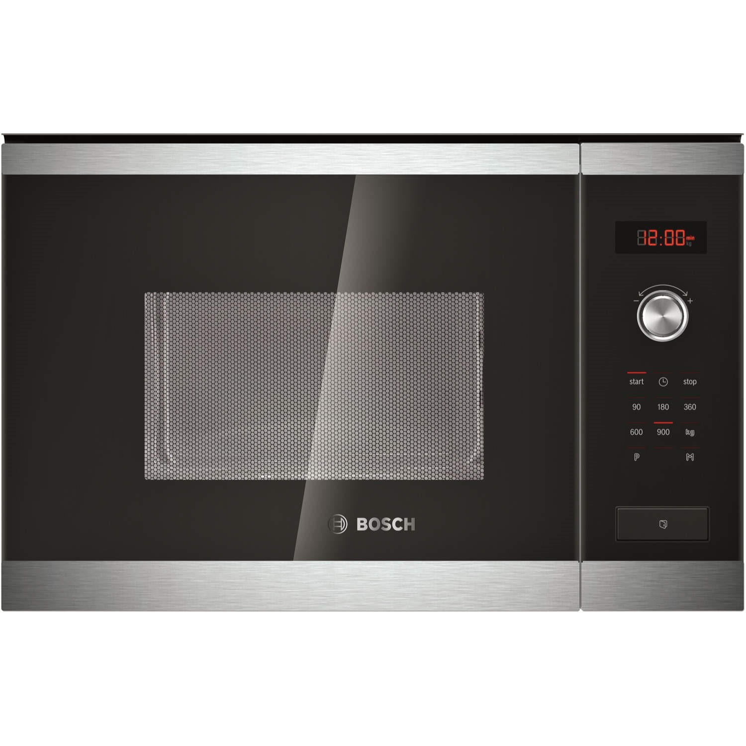 bosch hmt84m654b stainless steel built in standard microwave rh appliancesdirect co uk Bosch Microwave Ovens Bosch Compact Microwave