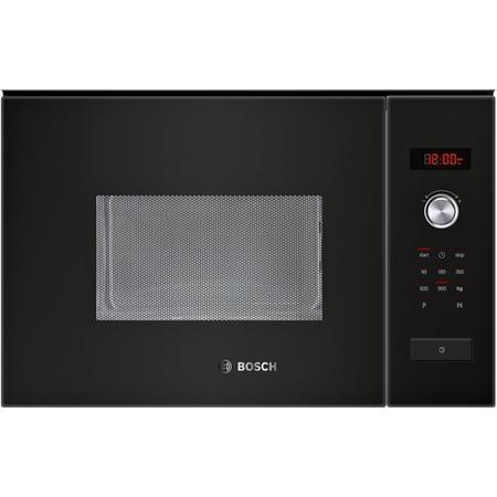 bosch hmt84m664b black built in standard microwave. Black Bedroom Furniture Sets. Home Design Ideas