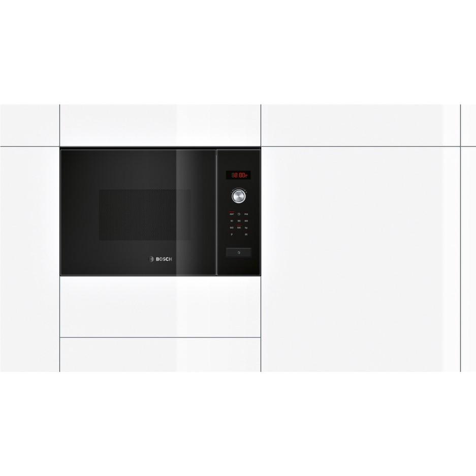 Bosch Hmt84m664b Black Built In Standard Microwave