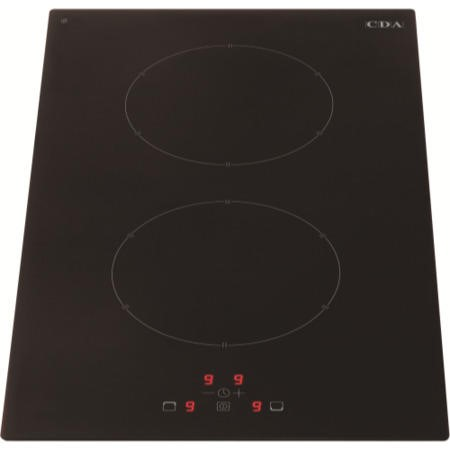 GRADE A1 - CDA HN3620FR 30cm Touch Control Two Zone Frameless Induction Hob Black