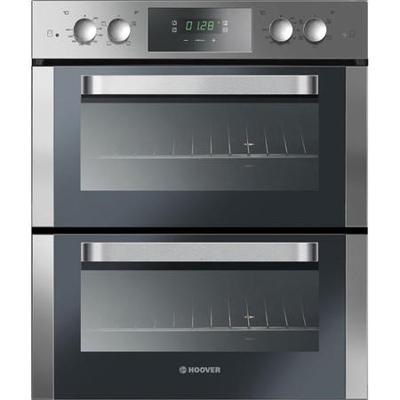 Hoover HO7D3120IN Multifunction Electric Built-under Double Oven Stainless Steel
