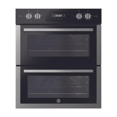 Hoover HO7DC3UB308BI Multifunction Electric Built-under Double Oven - Stainless Steel