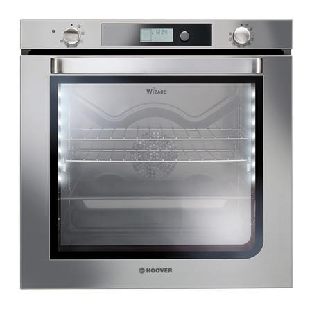 GRADE A1 - Hoover HOA03VXWIFI 10 Function 78L Electric Single Oven With Wi-Fi - Stainless Steel
