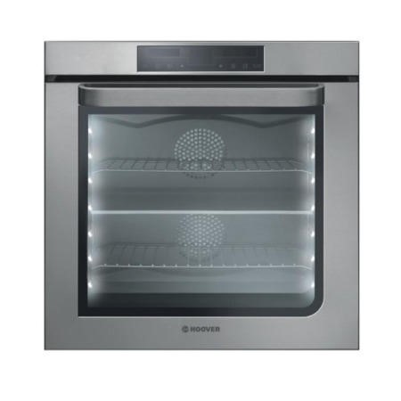 GRADE A2  - Hoover HOA65VX Multifunction 76L Electric Built-in Single Oven With Double Oven Divider