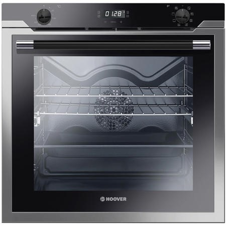 Hoover HOAZ7801IN 8 Function 76L Electric Single Oven - Stainless Steel