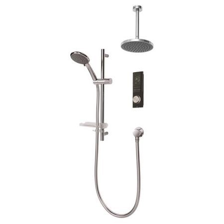 Triton Showers HOME Digital Mixer Shower with Diverter - Pumped