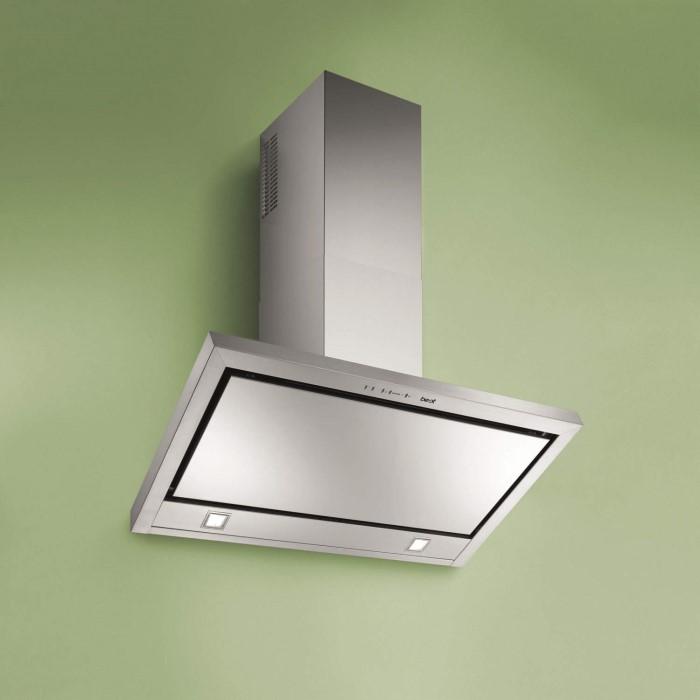 best hood be et 90 ss 90cm etna angled chimney cooker hood. Black Bedroom Furniture Sets. Home Design Ideas