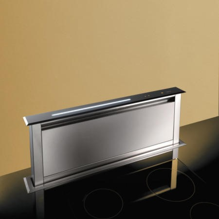 Best HOOD-BE-LE-90-SS Lift 90cm Downdraft Extractor in Stainless Steel External Motor Version