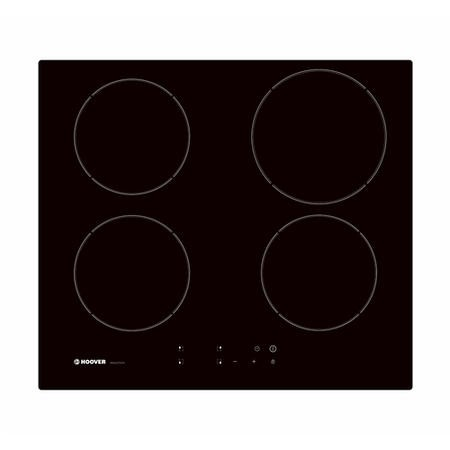 Hoover HPI604BC 59cm Touch Control Four Zone Induction Hob - Black