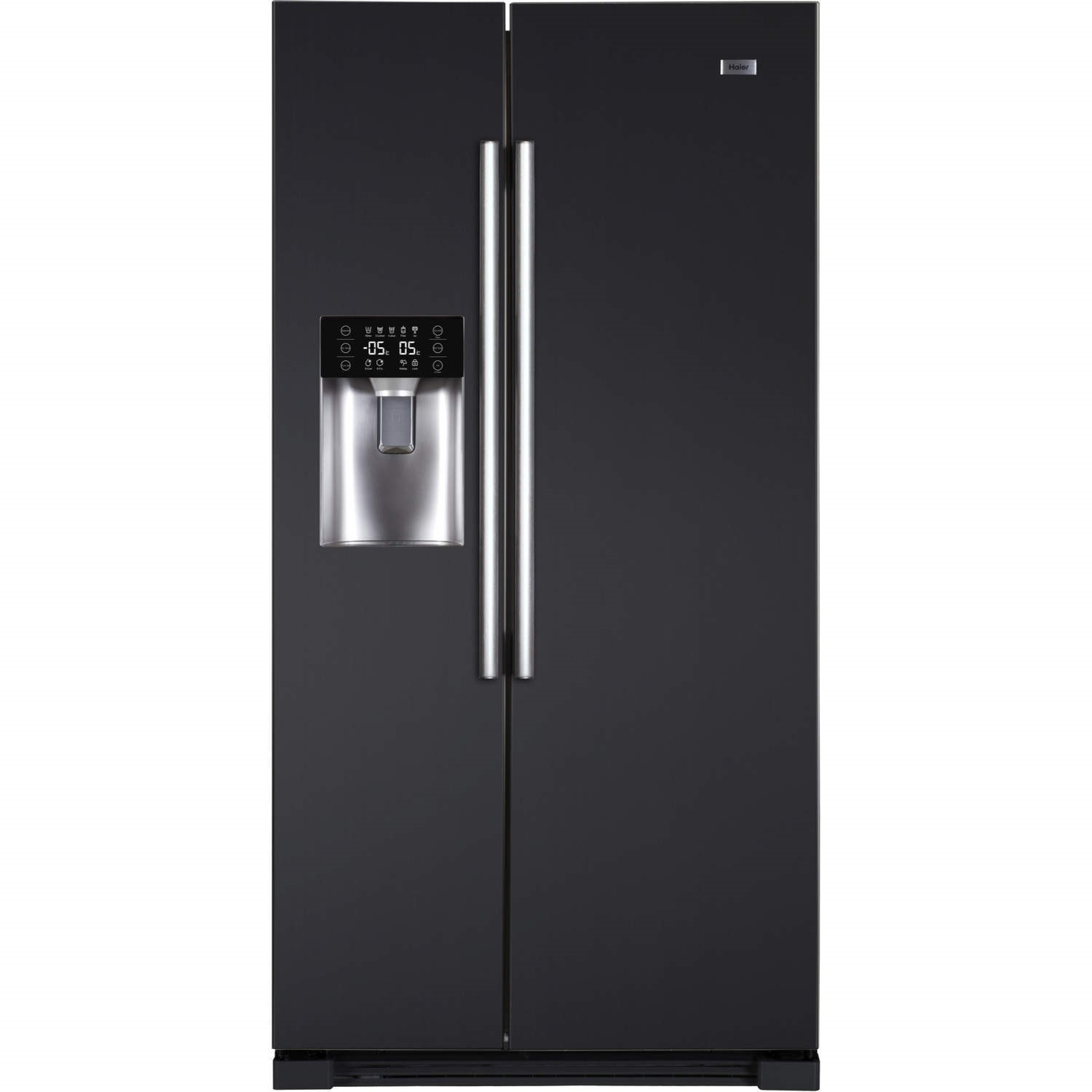 haier hrf628in6 2door a side by side american fridge freezer with ice
