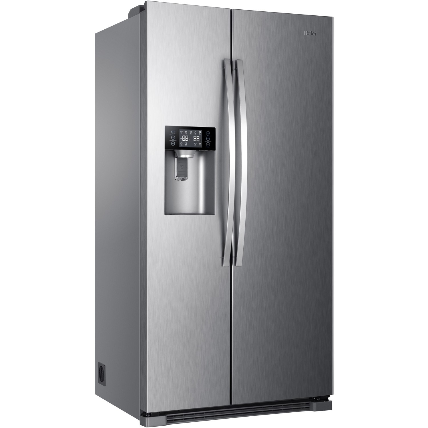 Fridge Freezer With Ice And Water Part - 19: Haier HRF-630IM7 American Fridge Freezer With Ice And Water Dispenser -  Stainless Steel