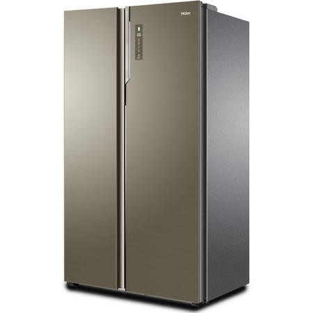 haier hrf800dgs8 2 door ultra efficient side by side american fridge freezer stainless steel and. Black Bedroom Furniture Sets. Home Design Ideas