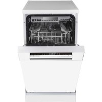 Hisense HS520E40WUK 11 Place Slimline Freestanding Dishwasher With Cutlery Tray - White Best Price, Cheapest Prices