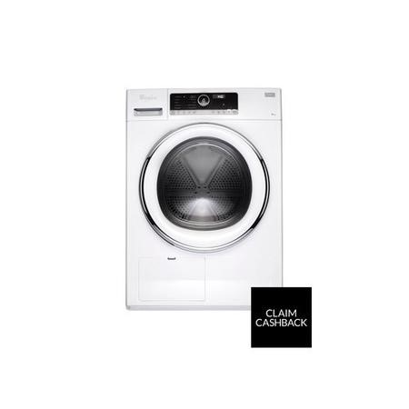 Whirlpool HSCX90423 Supreme Care CorePLUS 9kg Heat Pump Freestanding Tumble Dryer - White