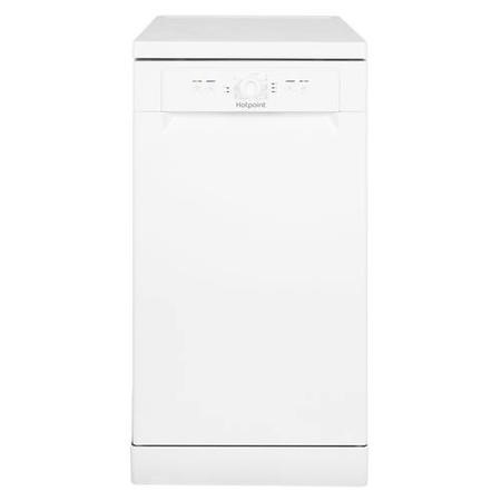 HOTPOINT HSFE1B19 10 Place Slimline Freestanding Dishwasher with Quick Wash - White