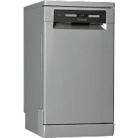 HOTPOINT HSFO3T223WX 10 Place Slimline Freestanding Dishwasher - Stainless Steel Best Price, Cheapest Prices