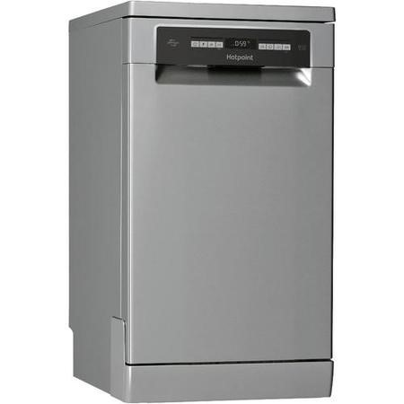 Hotpoint HSFO3T223WX 10 Place Slimline Freestanding Dishwasher - Stainless Steel