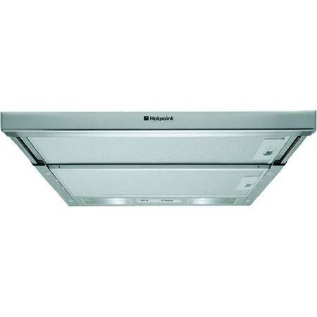 Hotpoint HSFX1 60cm Telescopic Canopy Cooker Hood Stainless Steel