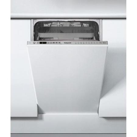 Hotpoint HSIO3T223WCE 10 Place Slimline Fully Integrated Dishwasher with Quick Wash - Silver