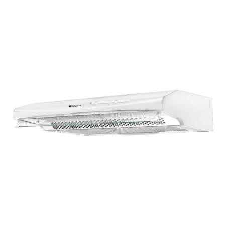 Hotpoint Htv10p 60cm Conventional Cooker Hood White