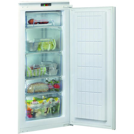 Hotpoint HU12A1D 54cm Wide Integrated Upright In-Column Freezer - White