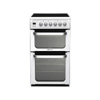 HOTPOINT HUE52PS 50 cm Electric Ceramic Cooker - White