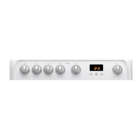 Hotpoint HUG61P Ultima 60cm Double Oven Gas Cooker - White