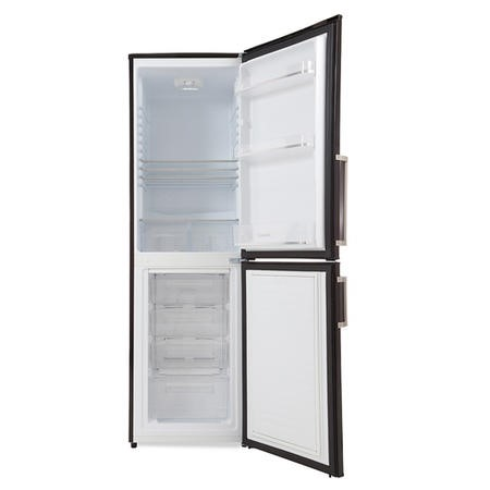 Hoover HVBF5172BHK Frost Free 55cm Freestanding Fridge Freezer Black