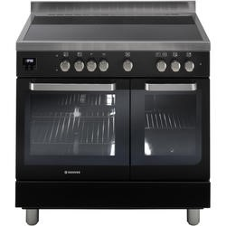 Hoover HVD9395BL 90cm Twin Cavity Electric Range Cooker Black