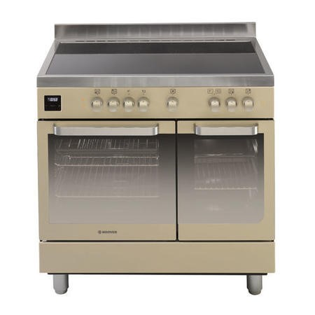 Hoover HVD9395IV 90cm Twin Cavity Electric Range Cooker Ivory