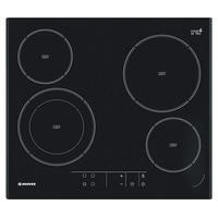 Hoover HVE642 59cm Four Zone Ceramic Hob Black