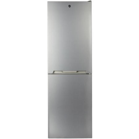 Hoover HVN6182X5K 186x60cm 320L Total No Frost Freestanding Fridge Freezer - Stainless Steel