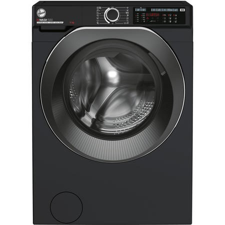 Hoover HW411AMBCB/1-80 H-Wash 500 11kg Freestanding Washing Machine - Black