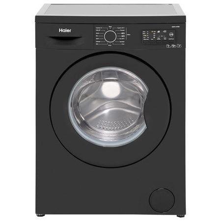 Haier Hw70 14f2b 7kg 1400rpm Freestanding Black Washing