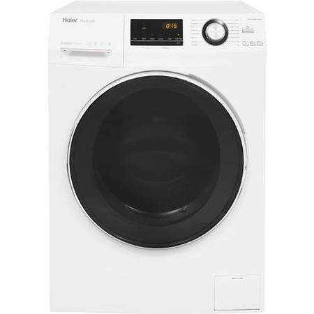 Haier HWD100-BP14636 10 Wash 6kg Dry 1400rpm Freestanding Washer Dryer - White -hlaundry-