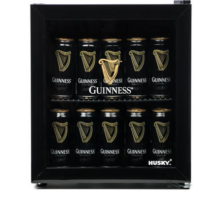 GRADE A1 - Husky HY205 Mini Fridge/Drinks Cooler - Guinness
