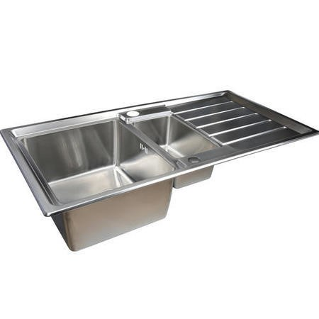 Taylor & Moore Huron 1.5 Bowl Reversible Stainless Steel Sink