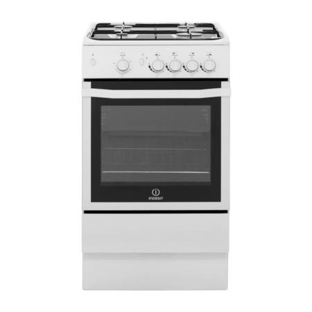 Indesit I5GGW White 50cm Single Oven Gas Cooker - White