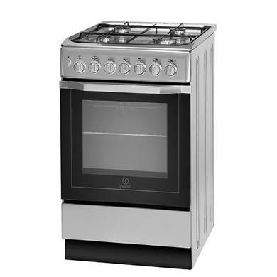 Indesit I5GSH1S 50cm Dual Fuel Cooker Silver