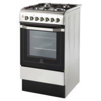 Indesit I5GSH1X 50cm Single Oven Dual Fuel Cooker Stainless Steel
