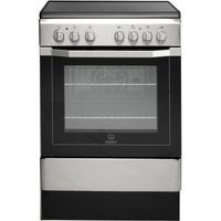 Indesit I6VV2AX 60cm Wide Single Oven Cooker - Stainless Steel Best Price, Cheapest Prices