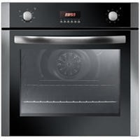 Baumatic Iberna IBOF605X 4 Function Electric Single Fan Oven With LED Programmer Stainless Steel