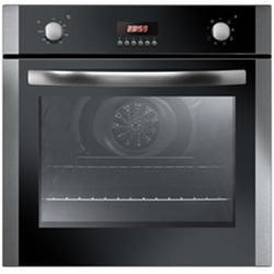 Baumatic Iberna IBOM600X 8 Function Electric Single Oven With LED Programmer Stainless Steel